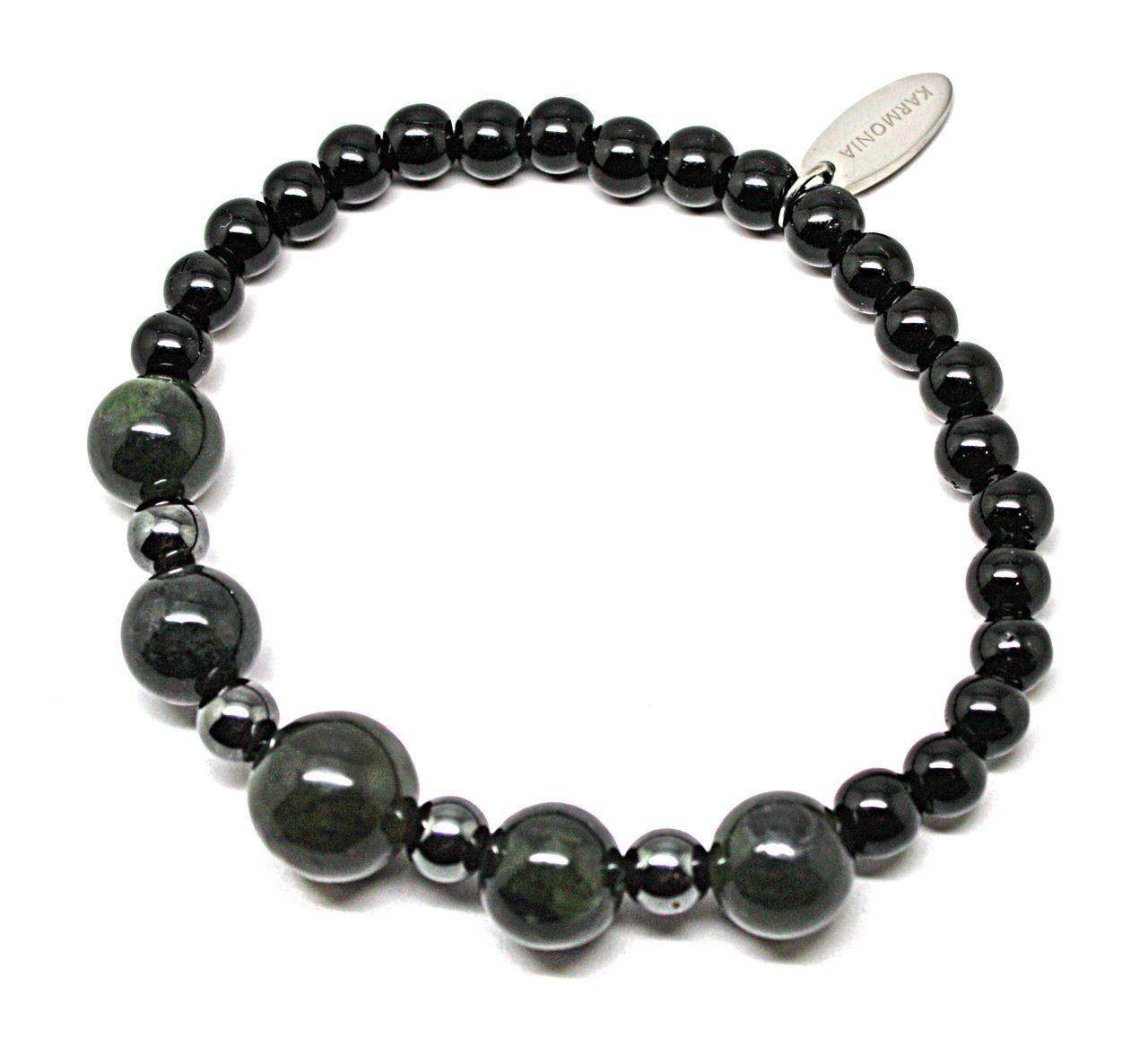 браслеты черный нефрит
