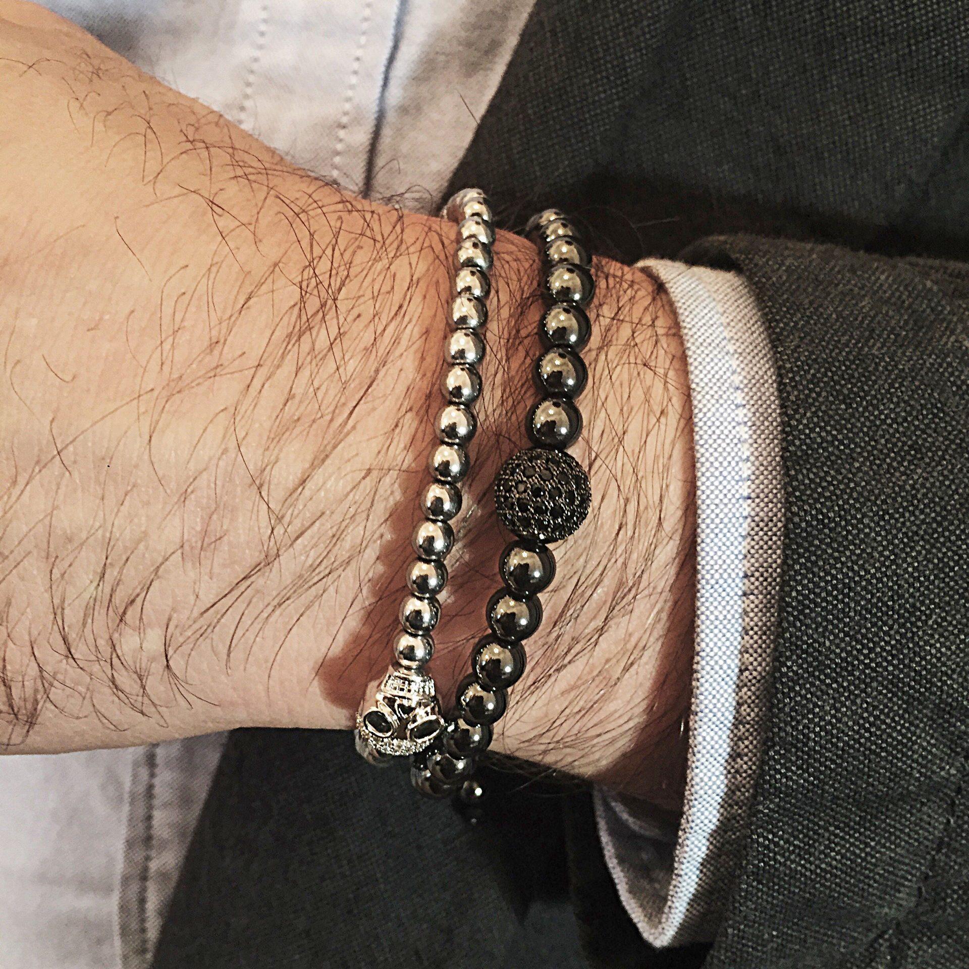 Мужское украшение на руку своими руками